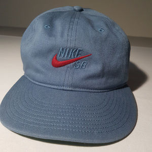 Nike SB blue Hat in excellent condition